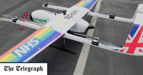 Drones to deliver chemotherapy to Isle of Wight NHS trust