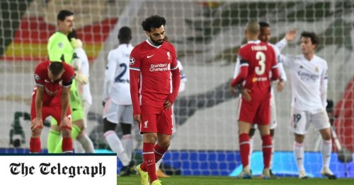 Liverpool will be trophyless this season after missing chance after chance against Real Madrid