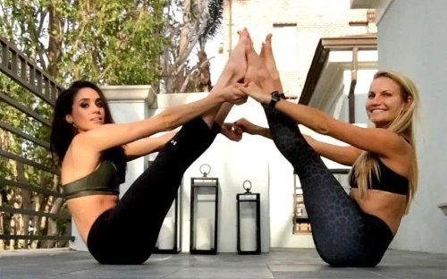 Meghan Markle joined at her Canadian hideaway by 'little blonde guru' Pilates instructor