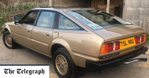 UK's rarest cars: 1979 Rover SD1 V8-S, one of only 10 left on British roads