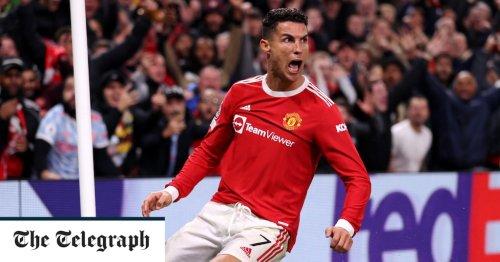 Cristiano Ronaldo gives Solskjaer a lifeline after dramatic Man Utd winner papers over first-half cracks