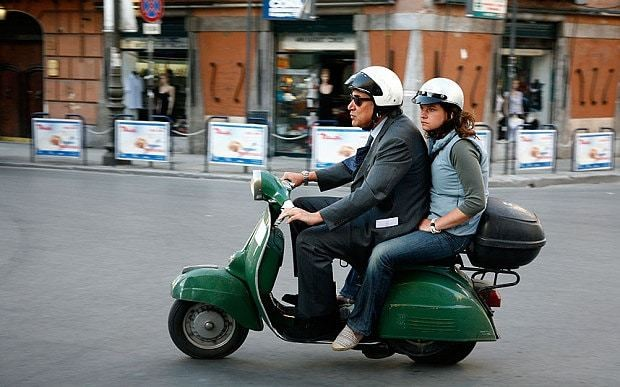 Ban on Vespas in Italian city has scooters riders in revolt