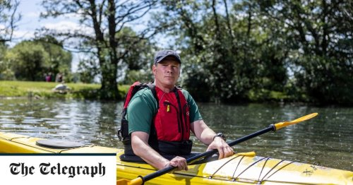 'I've lost 17 veteran friends to suicide – that's why I'm kayaking from Liverpool to London'