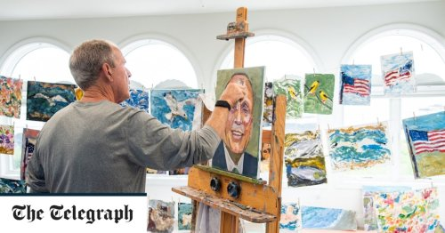 Laughable or laudable? George W Bush's strange, artistic second act