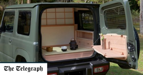 Tea brake for two? New Japanese Zen-mobile comes with tea ceremony room in the boot