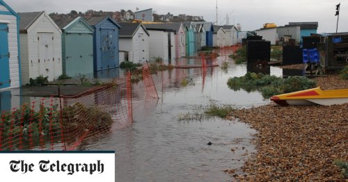 Beach huts flooded with raw sewage after Southern Water pipe bursts