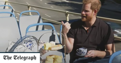 Prince Harry tells all to James Corden on Archie's first word, his views on The Crown and family life with Meghan