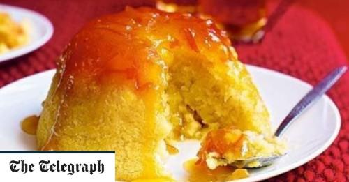 Steamed apple and marmalade sponge recipe