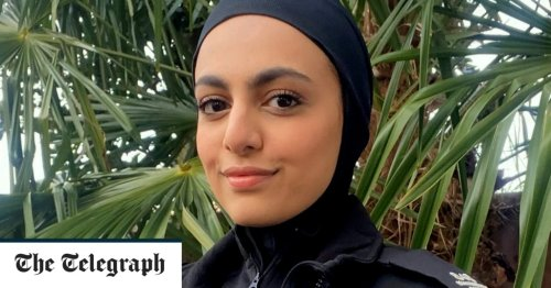 Police unveil hijabs with 'anti-grab' magnetic technology