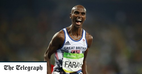 Mo Farah: Keeping kids active is more important than elite sport