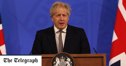 Was this the oddest Covid news conference Boris Johnson has held yet?