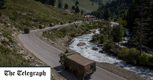 Military build-up on India-China border amid fears of new conflict