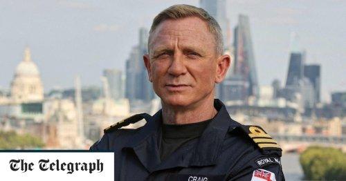 Commander Craig: James Bond actor given honorary Royal Navy rank