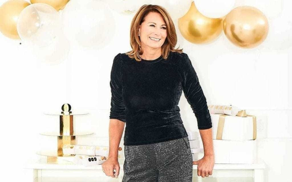 Carole Middleton offers an early lesson in ageless festive dressing, 2020 style