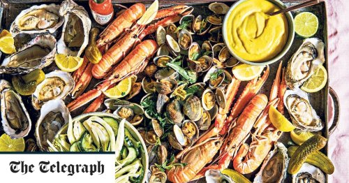 Shellfish platter with fennel salad and saffron aïoli recipe