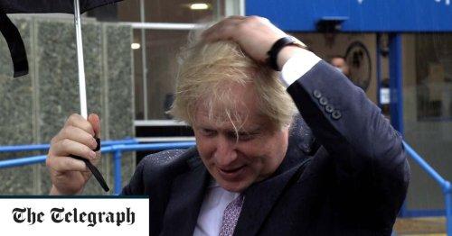 How a rain-soaked Boris Johnson tried to prove he isn't a Tory wet