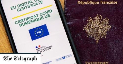 UK on brink of joining EU Covid vaccine passport scheme