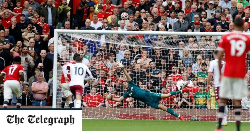 Bruno Fernandes blazes late penalty over the bar as Manchester United defeated by Kortney Hause header