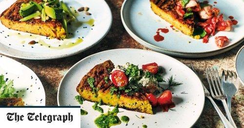 Vegan chickpea and carrot frittata recipe
