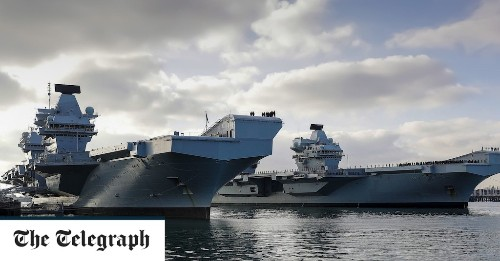 HMS Queen Elizabeth to be joined on maiden deployment by US Destroyer as navy faces 'biggest test for a generation'