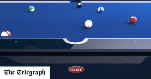 Bugatti sells £200k 'self-levelling' table to superyacht owners who want to play pool at sea
