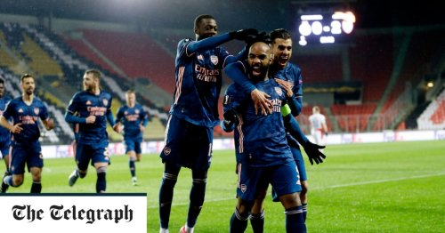 Impressive Arsenal tear Slavia Prague apart to set up Unai Emery reunion