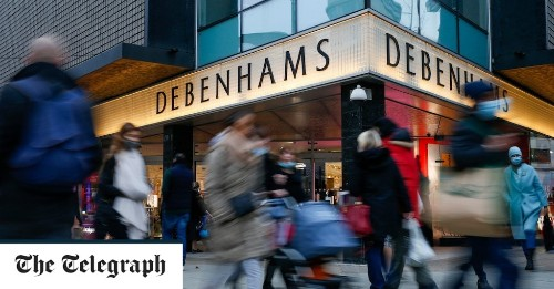 Boohoo to buy Debenhams brand as future of stores remains uncertain
