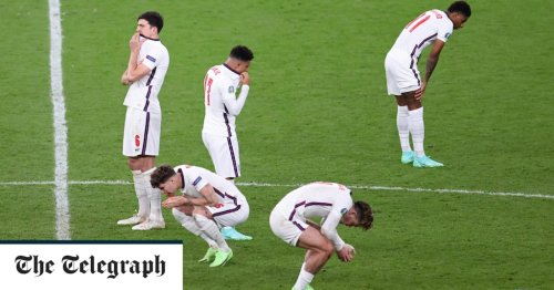 England lose Euro 2020 final to Italy as Gareth Southgate's three young subs fail to score in shootout