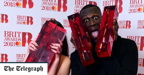 Brit Awards 2018 recap: a booze-addled, bracingly near-the-knuckle show – but why all the beeping?