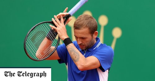 Dan Evans' run in Monte Carlo ended in straight sets by Stefanos Tsitsipas