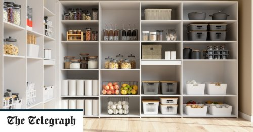 There's nothing like the simple pleasure of an organised pantry