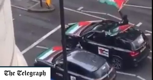 Men arrested over pro-Palestine London convoy linked to previous anti-Semitic incident