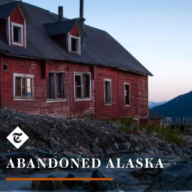 ABANDONED ALASKA, by Paul Scannell