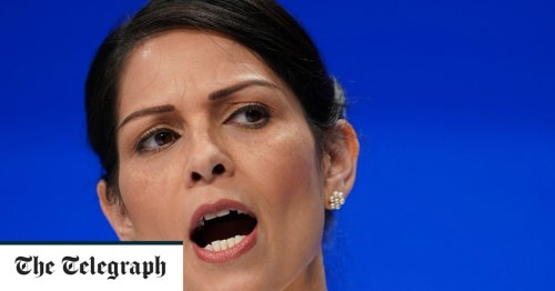 Police must do more to crack down on 'dangerous' anti-vaxx protests outside schools, says Priti Patel