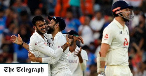 England produce their worst day of the winter as India dominate day one of crunch Test match