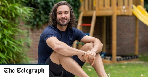 Joe Wicks: 'Exercise and ice-baths make me a better, calmer dad'