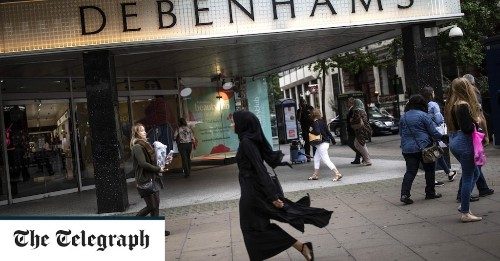 Boohoo buys Debenhams brand as Asos eyes Topshop