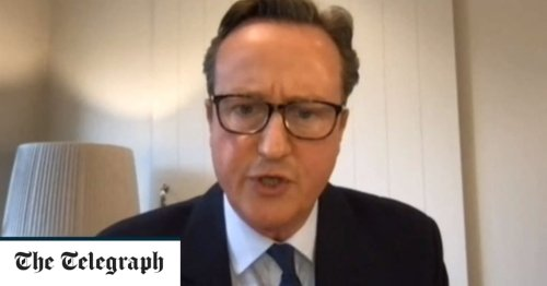 Squirming under questioning, David Cameron appeared to be a Samson shorn