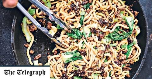 Cheat's dan dan noodles recipe