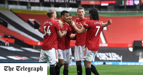 Mason Greenwood scores twice as Manchester United beat Burnley after second half improvement