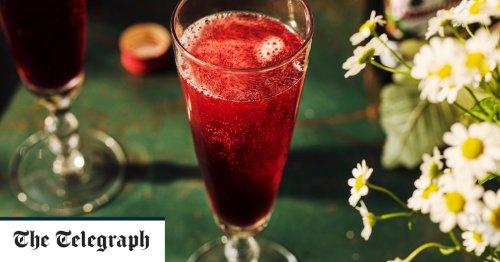 Blushing Bellini cocktail recipe
