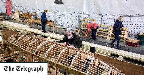 Saxon ship that inspired Netflix film 'The Dig' to sail again as restorers rebuild it from scratch