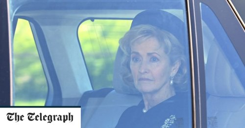 Prince Philip's close friend Countess Mountbatten attends funeral on behalf of ill husband