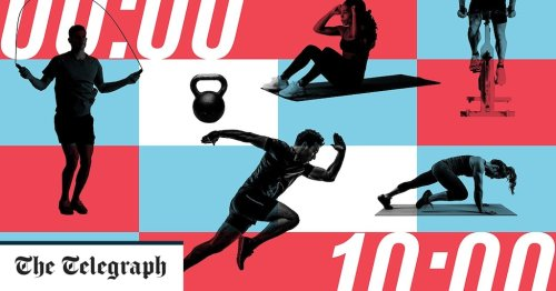 Why 10 minutes is the sweet spot for exercise