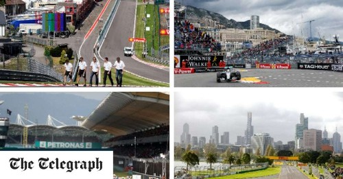 F1 race calendar 2017: Dates for all the scheduled Grands Prix in the championship this season