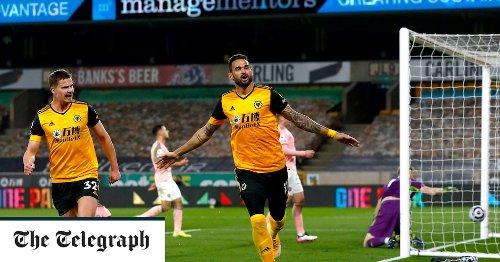 Willian Jose scores winner for Wolves as Sheffield United are relegated