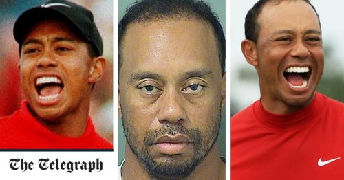 The changing face of Tiger Woods: a pictorial history of his rise, fall and return