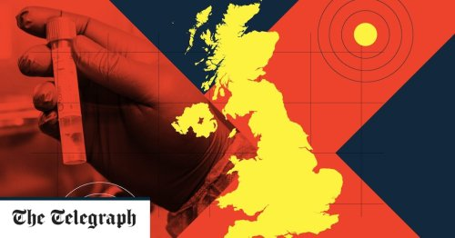 Mapped: The hotspots for the Delta variant of Covid-19 in the UK