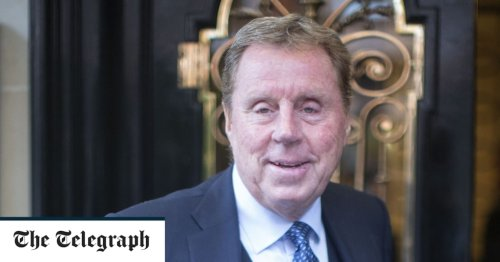 Harry Redknapp: 'When I watch football now it's so boring and negative I end up reading the paper'