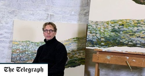 How couturier Graeme Black swapped high-end fashion for paintings of Yorkshire trees